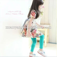 2012 children's fashion flower dress