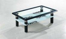 modern furniture design metal glass coffee table