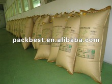 Compressor inflating dunnage air bag supplier