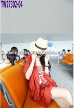 2012 pure red color scarf fashion woman scarf