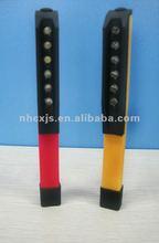 plastic super bright 6 led magnetic pen light with clip