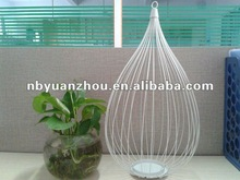 Hot sale white metal lantern