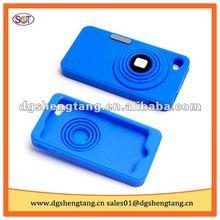 Cute silicone camera style mobile cases