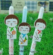 happy girl ball pen