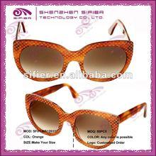 2013 wholesale Colorful Lens Custom Wayfarer Sunglasses/can Oem Sunglasses Orange