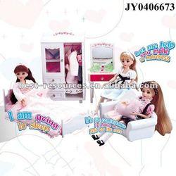 Fashion doll furniture modern doll furniture lelia dream room EN17 ASTM