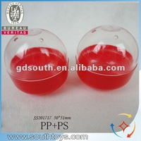 5*5.1cm capsule toys plastic capsule for candy toys