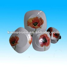 french porcelain dinnerware with flower