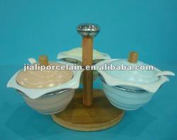 ceramic cruet set