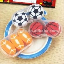 fashion basketball soccer football eraser