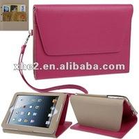 fashion protective cover for ipad mini leather case