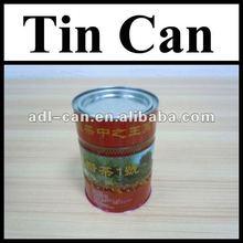 Tea Empty Tin Cans Pass SGS FDA tin pencil case