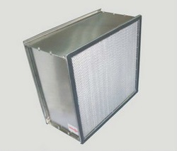 GWYK Series Deep Pleated HEPA Filter with Clapboard---High temperature