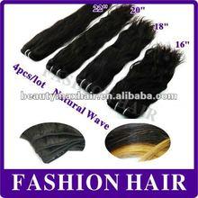 2012 health and smooth black virgin burman natural wave hair weave