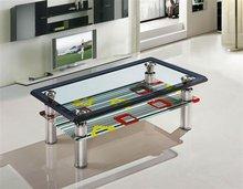 modern furniture design metal glass office table