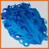Wholesale cheap hackle feather headband feather extension