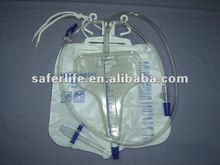 urine meter 500ml+2000ml rine collection bag,Meter bags