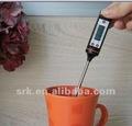 Alimentação termômetro digital para churrasco com sobre/fora, c/f switch