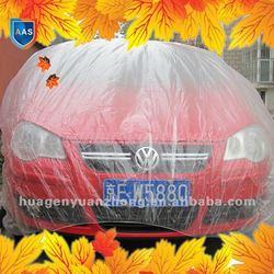 plastic film car cover