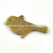 antique bird pendant necklace