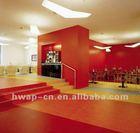 Colorful Sports flooring Guangzhou PVC roll flooring 3.5mm-4.5mm