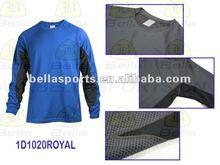2012 long sleeve jersey custom sports T-shirt, fitness t shirts Atheletic jersey moisture wicking jersey coverstiching