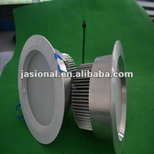New Design SAA Approval Frosted Glass Aluminum Dia 110mm 220V 15w Dimmable Spot Led Downlight Puck