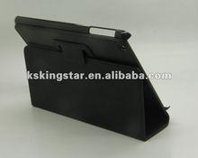 pu leather for ipad mini cover with sleep wake up function