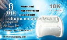 18W uv nail lamp in gel