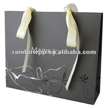 2012 Boutique Paper Shopping Bag With UV Finishing