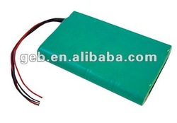 24V 2600mAh 6S rechargeable 18650 li ion battery pack