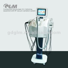 2012 Best seller! Professional cryo & laser & cavitation lipolysis ultrasound therapy equipment D-011