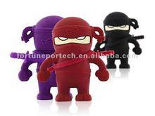 Top quality Ninja character 1gb/2gb/4gbUSB flash drive