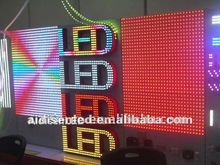 2012 LEDEdit software chasing and running light effects programmable pixel wall panel display light animation