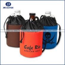 2012 christmas gift bag promotional linen bag linen pouch