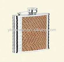 5 oz duples stainless steel hip flask