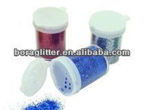 Holographic lip glitter powder