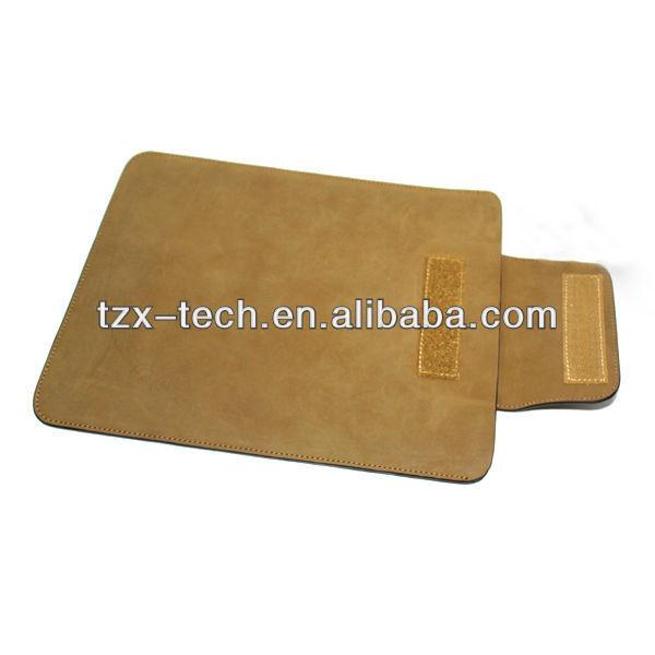 TZX portable leather bag for ipad mini