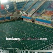 BWF portable pvc badminton floor mat