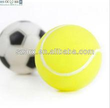 small vinyl dog toy football