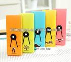 wholesale hot sales plastic pen case, stock pen case