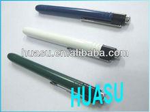 diagnostic medical pen light, aluminum alloy art + paint shape, nice gift package