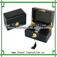hot selling black pair watch box