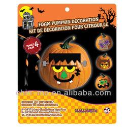 Halloween Foam Pumpkin EVA Decoration Sticker