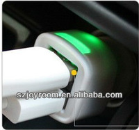 Universal 3.1 A Dual USB Car Charger for iphone/ipad/sony/blackberry/samsung mobile phone with patent design