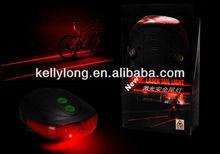 Mini RED laser light for bike with LED flash lights JLR-072