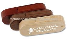 company activity gift promo! 2gb/4gb/8gb/16gb wood/bamboo swivel/twist usb flash drive in bulk with logo