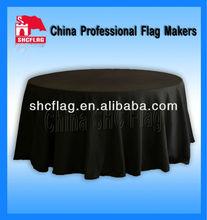 Custom design decorative round table cloth