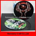 perfeito de alta qualidade de 4 cores personalizadas impresso cmyk impressão de fotos de borracha macia do pvc coaster cerveja