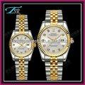 2013 ano novo negócio 3 atm impermeável aquamarin relógios